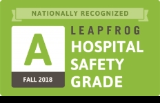 leapfrog hospital safety grade logo